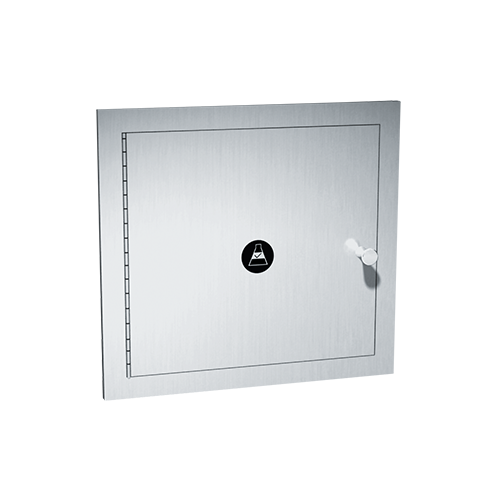 ASI 8156 Specimen Pass Box With Extension Sleeve & Flange – Recessed