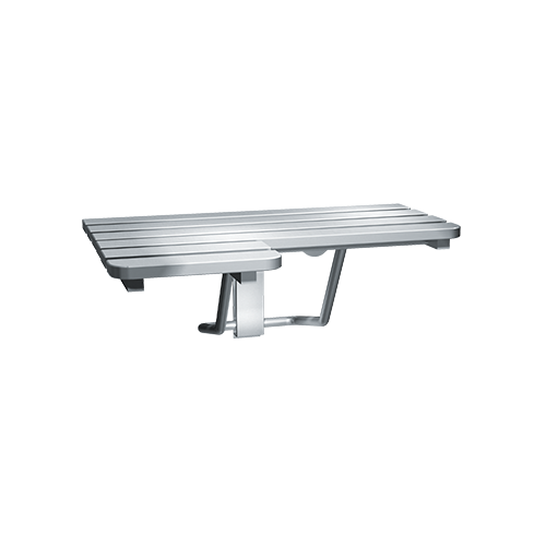 ASI 8208-R Folding Shower Seat, Stainless Steel – Right Hand, Ada