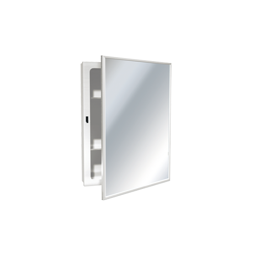 ASI 8338 Medicine Cabinet – Surface Mounted, Enameled Steel – 14-1/4