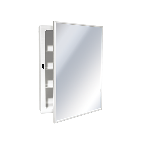 ASI 8340 Medicine Cabinet – Recessed, Enameled Steel – 18-1/4
