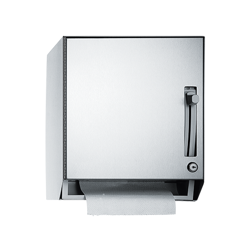 ASI 8522 Roll Paper Towel Dispenser (lever-type), Stainless Steel – Surface Mounted