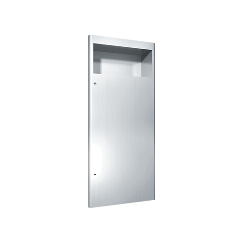 ASI 9474 Profile Collection Waste Receptacle – Recessed