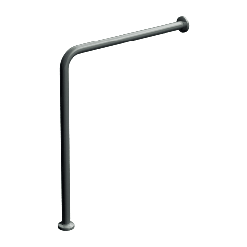 "ASI 3815 Wall To Floor Grab Bar 30"" X 33"""