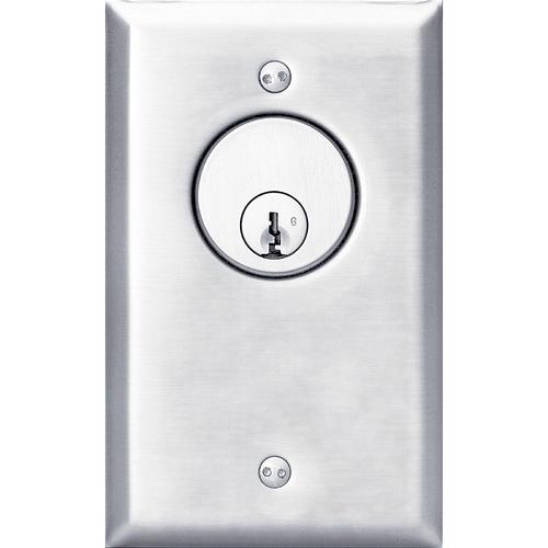 Security Door Controls 707U-6 AMP 2 Momentary Spdt Key Switch