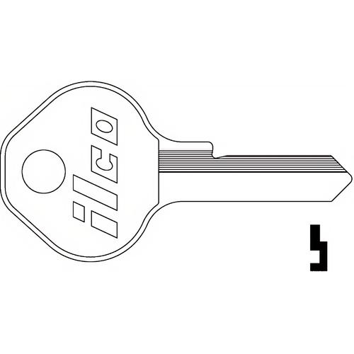 Dormakaba 1092CNTLBI Master Locker Builtin Lock