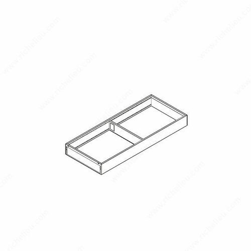 Richelieu ZC7S500RS2107 Large Frame for LEGRABOX Drawers