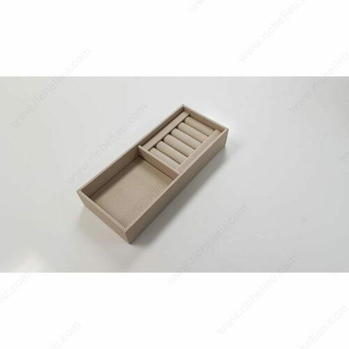 Richelieu 74101030 Leather Jewelry Tray