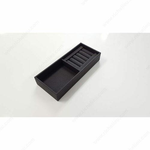 Richelieu 74102060 Leather Jewelry Tray