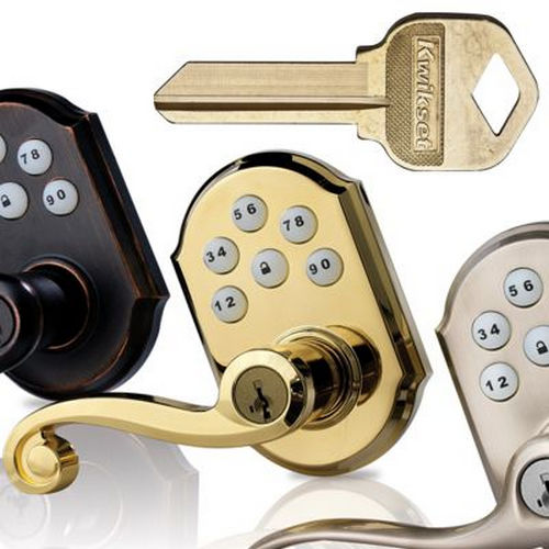Kwikset 665-3V1 Double Cylinder Deadbolt with New Chassis with RCAL Latch and RCS Strike Bright Brass Finish